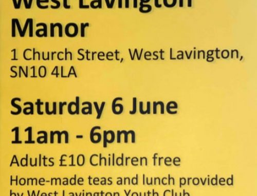 West Lavington Manor – Garden Open For Charity 5th June 11am – 6pm
